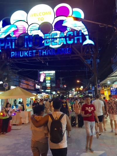 雨季のプーケット3泊5日⑥夜のバングラー通り