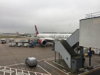 2018年 1月 4日間で弾丸世界一周の旅 その7 Virgin Atlantic航空 Upper Class Wingでのチェックインと、The Club House 訪問記