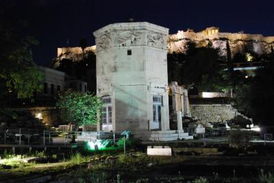 サントリーニ島とクレタ島2週間の旅8 アテネ2