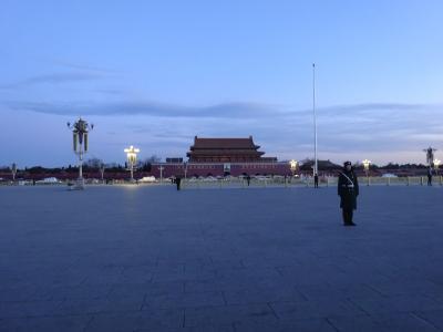 大ミスだらけの中国旅行7(北京その2:国旗掲揚式・天壇公園→帰国)
