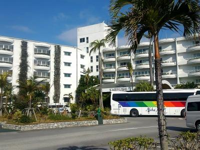 おばさん、一人でまたまた沖縄。1日目 ~沖縄かりゆしビーチリゾート・オーシャンスパ(シングルルーム)~