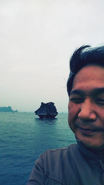 久々にハロン湾に行ったら寒すぎた!!