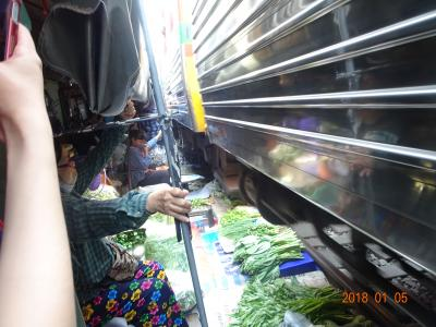 初めてのバンコク母娘2人旅。③メークロン市場と市内観光