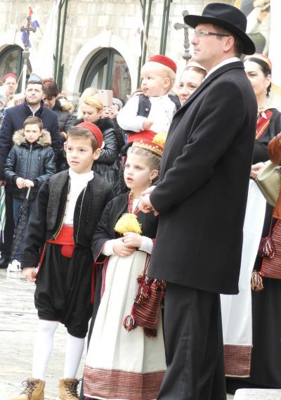 2018冬欧州:ユネスコ無形文化遺産-聖ヴラホ祭り。