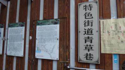 台北冬1月 龍山寺界隈の青草港から剝皮寮歴史街区まで