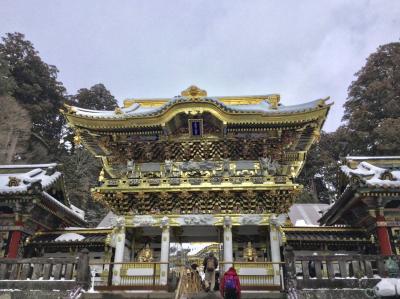 雪景色の日光東照宮に参拝して来ました。