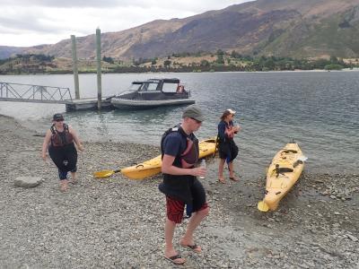 ニュージーランド ワナカ湖 半日カヤックツアー