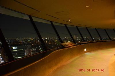 東京ドームついでに都内屈指の夜景スポット、文京シビックセンターからの眺望