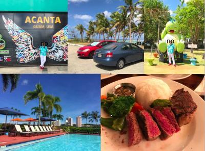 20回目のグアムはLCCティーウェイ航空と食べ歩きとパシフィックスターホテル