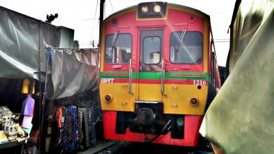 タイ・マレーシア乗り鉄紀行2018(7)メークロン編。メークローンへローカル鉄道乗り継ぎで行ってみた。(終)