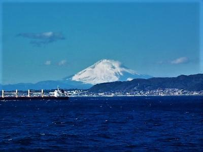 富士山 from 東京湾フェリー/金谷・鋸山