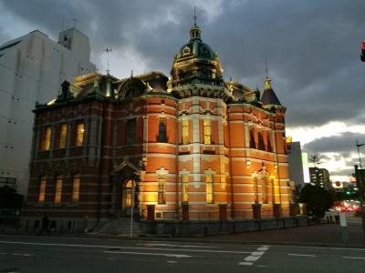 出張の仕事の合間に博多の街を少しだけ観光気分で街歩き