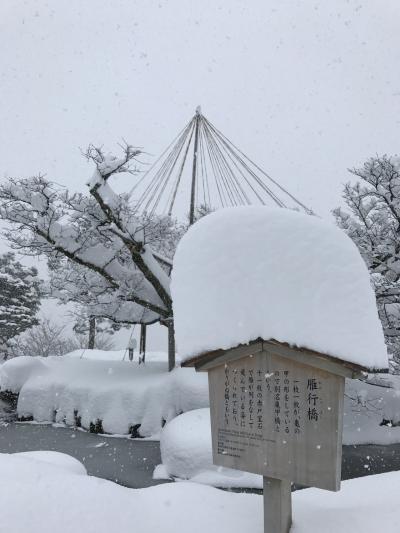 豪雪の金沢と世界遺産を訪ねる、冬の旅