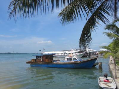 インドネシア 「行った所・見た所」 バタム島ハーバーベイフェリーターミナルから出港