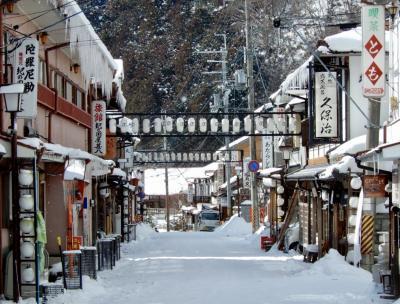 湯も人情も温かい 冬の洞川温泉へ。 天川村は銀世界。雪景色に萌えぇ~♪1日目