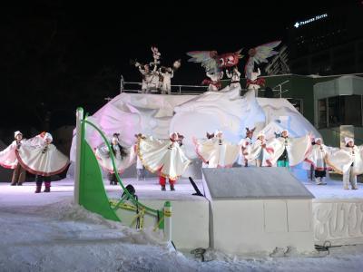 雪祭りより楽しかった、中島公園の雪あかり