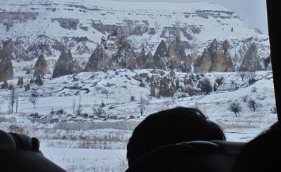 車窓からのトルコ・カッパドキア