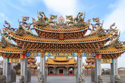 都会の中にある異国を体験しに②~五千頭の龍が昇る聖天宮~