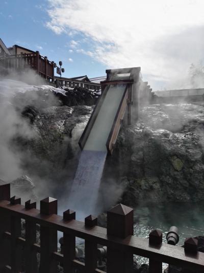 噴火後の草津温泉は普段通りの賑わい…♨by オキャマ雪見旅♪