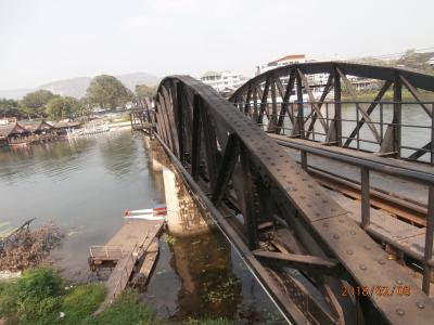 映画「戦場に架ける橋」を訪ねて