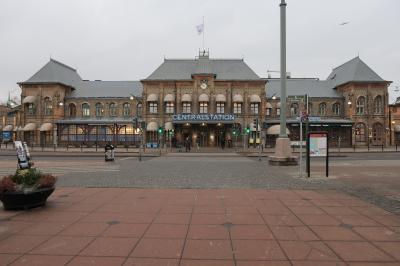 スウェーデンの港町(ヨーテボリ)