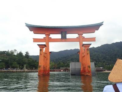 ANAプレミアムクラス☆日帰り錦帯橋~宮島厳島神社