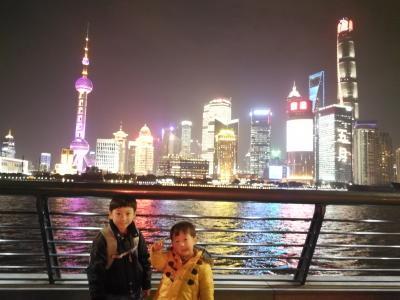 5歳と2歳の子供2人と上海&甪直古鎮(ルージー)子連れ3人旅