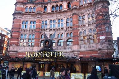 娘とファーストクラスとハリー・ポッター 2日目 - ロンドン市内観光 1