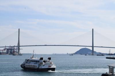 航路で出国 2日目 釜山観光 大阪→釜山→博多→大阪