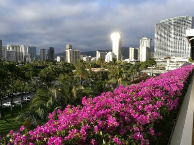 ハネムーンでハワイ島→オアフ島8泊10日 4日目 トランプタワー到着編
