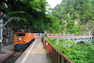 黒部渓谷  トロッコ電車に乗って黒薙温泉へ行こう!