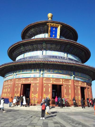 中国北京2泊3日団体ツアー 初日は羽田空港宿泊と天壇公園