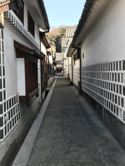 冬の倉敷、ちょこっと、岡山、後楽園(初日)。