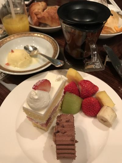 名古屋東急ホテル 大満足のデザートブッフェ