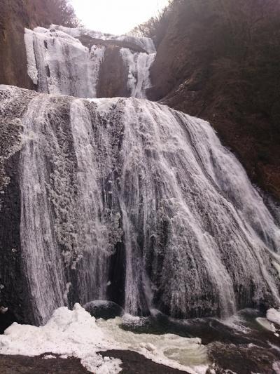【再訪】氷瀑!袋田の滝  *:゜☆ヽ(*'∀'*)/☆゜:。*。