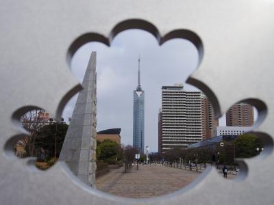 KLの続きで日帰り福岡、福岡タワーととんこつラーメン食べ比べ