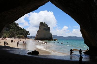 レンタカーで巡る年末年始のニュージーランド・2週間の旅〈4〉 ~美しいビーチ・Cathedral CoveへGo!~