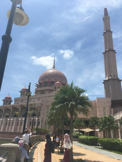 【やっぱり太陽を浴びに行こう。マレーシア周遊の旅…8月21日、恋するモスク編~】