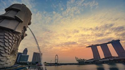 シンガポール2泊3日 三度目は久しぶりに両親達と 念願叶った家族旅行