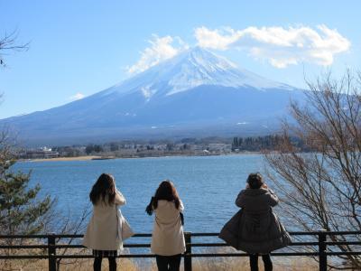 晴れおじさん「フジサン特急で冬の富士山」を観に行く