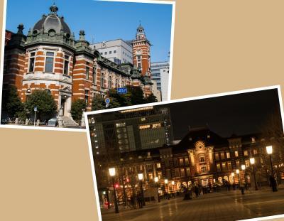 横浜三塔物語&東京夜景散歩 ~恒例の新年会の前後にカメラを持ってブラブラ~