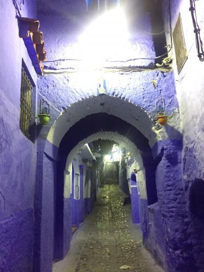 モロッコ夫婦旅 シャウエン
