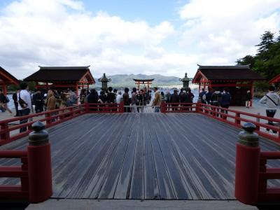 24.CSファイナルステージ進出のベイスターズを応援する筈だった広島の旅 世界遺産 厳島神社
