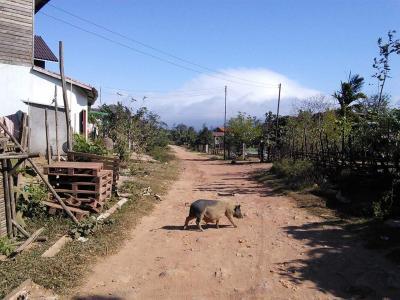 通過するだけではもったいない、ベトナムとの国境の村…デーンサワン