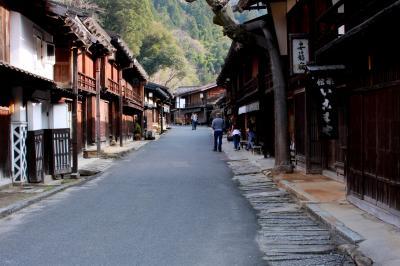 それは昔むかしの、今日の私が歩いている道~長野県南木曽妻籠宿