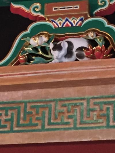 眠り猫と雀と 二社一寺を4時間で巡る日光ひとり旅