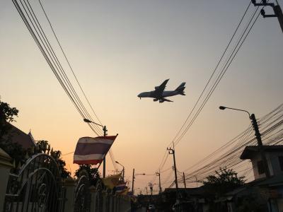 週末土日でバンコク♪飛行機好きには堪らない町?ラト・クラバーンを散策しました♪