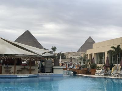ローマからの1人帰国旅①…ローマ~カイロ(ギザ)ル・メリディアン ピラミッドホテル滞在!