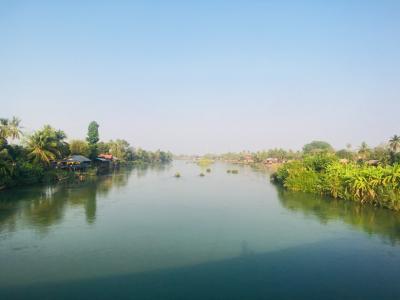 アジア縦横断の旅 道中記21《ラオス最南部シーパンドン。すぐそこはカンボジア》