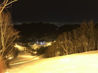 2018年2月の北海道でスキーとスノボ ばんけいでナイター滑って、キロロに日帰り